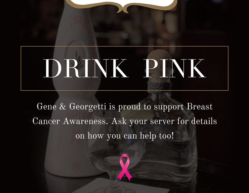 """Drink Pink"" For Breast Cancer Awareness!"
