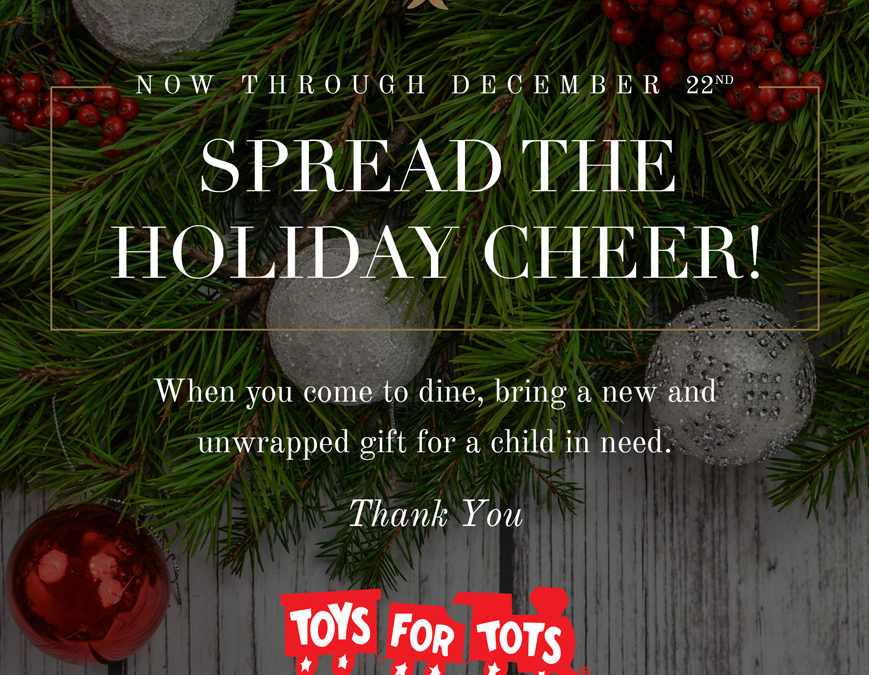 Toy Collection In Rosemont, Toys For Tots 2017