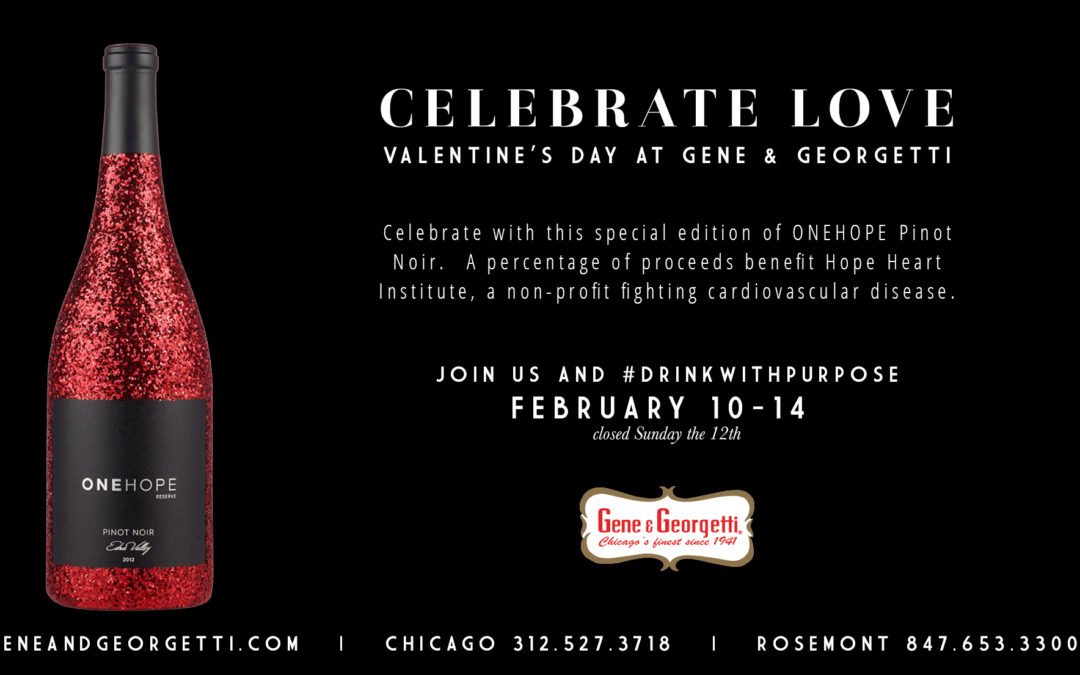 This Valentine's Day #drinkwithpurpose